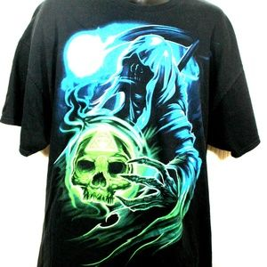 Other - VINTAGE HALLOWEEN GRAPHIC GHOST MEN'S TSHIRT-